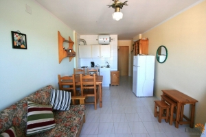 Furnished studio apartment in prime position at beach and near amenities for sale in Empuriabrava, Costa Brava, Spain.