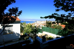 Lovely hillside house with 4 bedrooms, double garage and beautiful sea and mountain views for sale in Roses, Costa Brava, Spain.