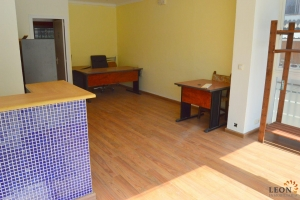 Commercial premises with storage room and terrace for sale near beach in Santa Margarita, Roses, Costa Brava, Spain.