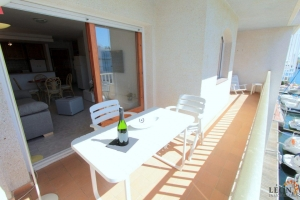 For rent nice apartment near the beach for 4 people with fantastic views to the main channel of Empuriabrava, Costa Brava, Spain