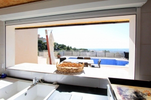 For sale in Palau-Saverdera dream villa with private pool and stunning views, Costa Brava, Spain