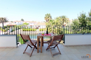 Empuriabrava, Costa Brava holiday rental: immaculate modern villa for 8 people with beautiful views, private swimming pool and large mooring on canal.